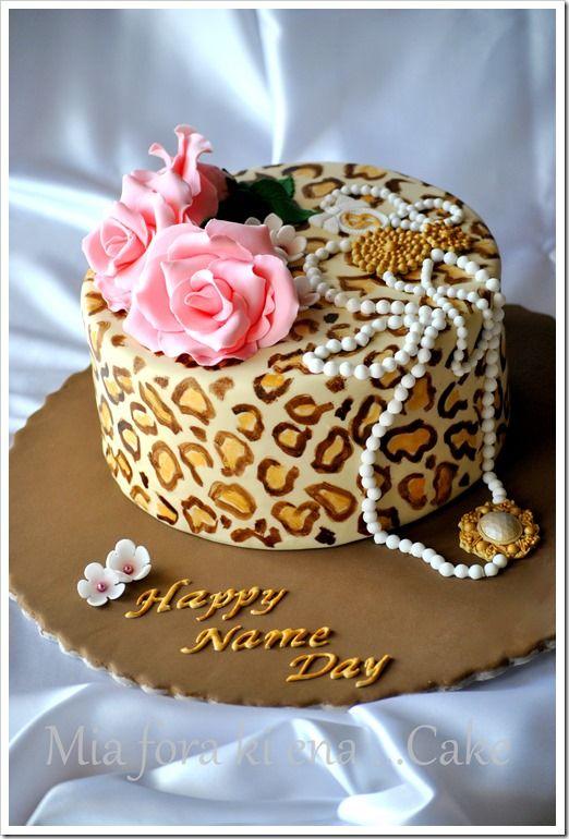 Happy Name Day Cake Www Miaforakienacake Blogspot Gr My
