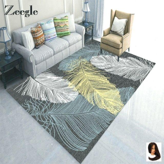 Fur Fussmatte Fussmatten Kind Leaf Pattern Rutschfeste Schlafzimmer Teppich Teppiche Wohnzimmer Living Room Carpet Living Room Door Patterned Carpet #patterned #carpet #living #room