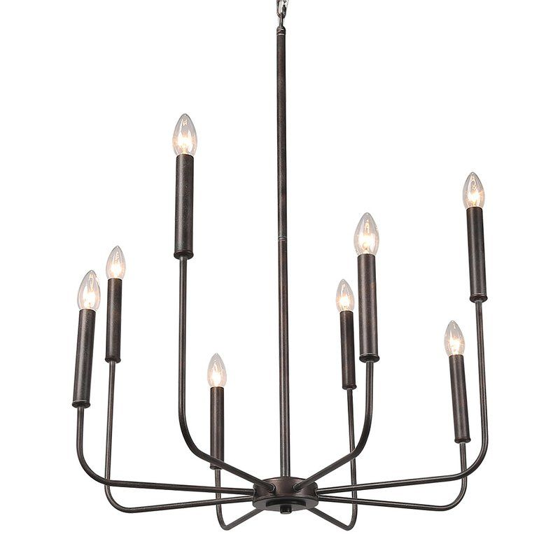 Roush 8 Light Candle Style Classic Traditional Chandelier With Images Candle Style Chandelier Traditional Chandelier Candle Styling