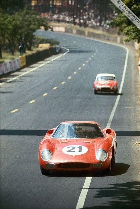 Jochen Rindt, Maston Gregory and Ed Hugus - Ferrari 250 LM - Le Mans - Winner - 1965