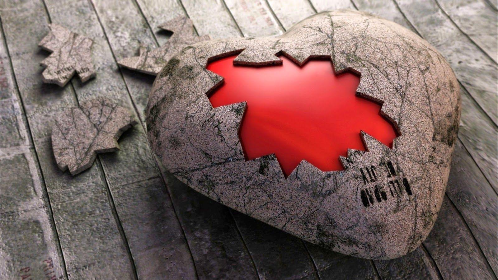 Wallpaper Sakit Hati Your Title Сердце обои