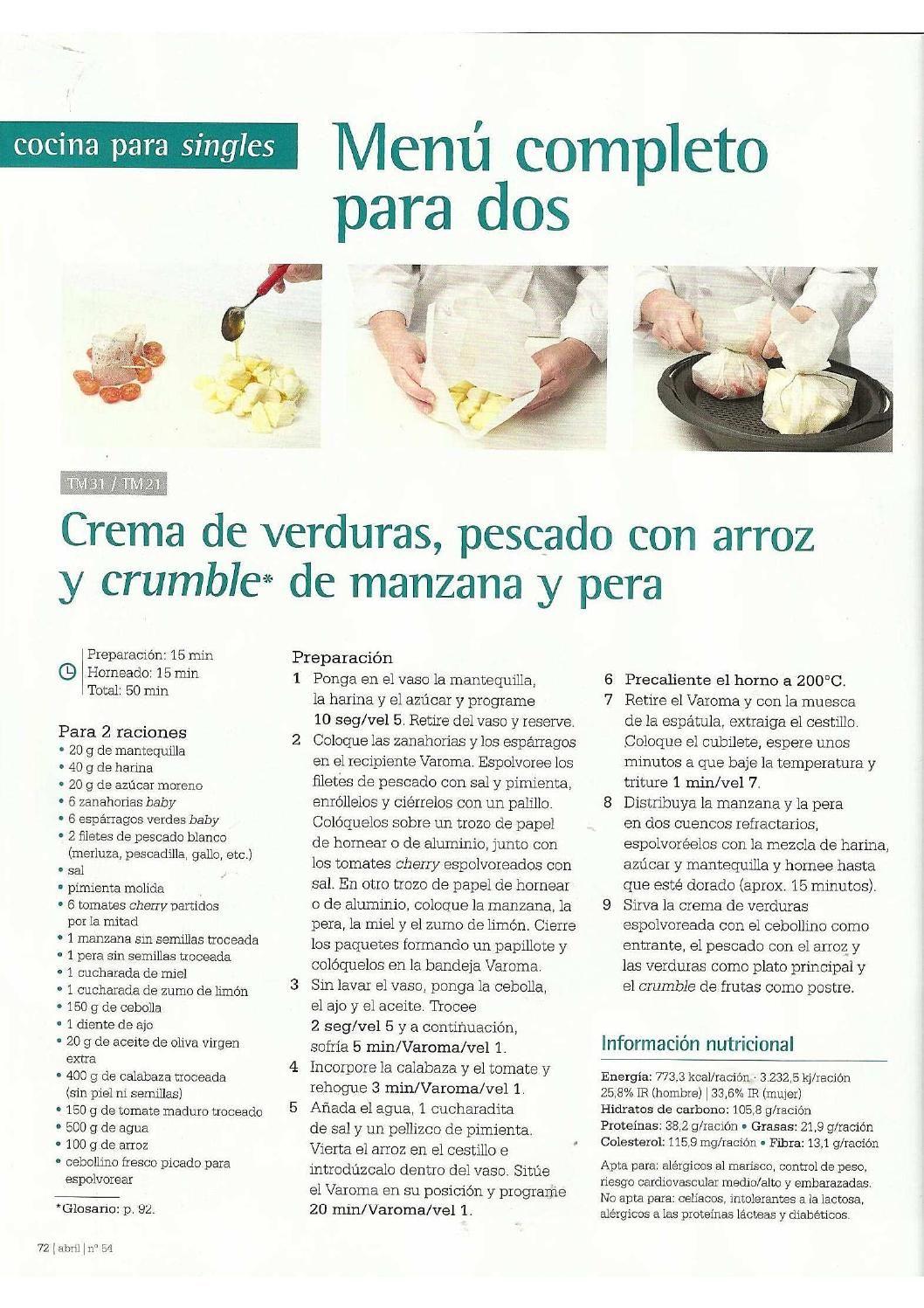 Revista Thermomix Nº54 Pascua Recetas De Thermomix Thermomix Recetas