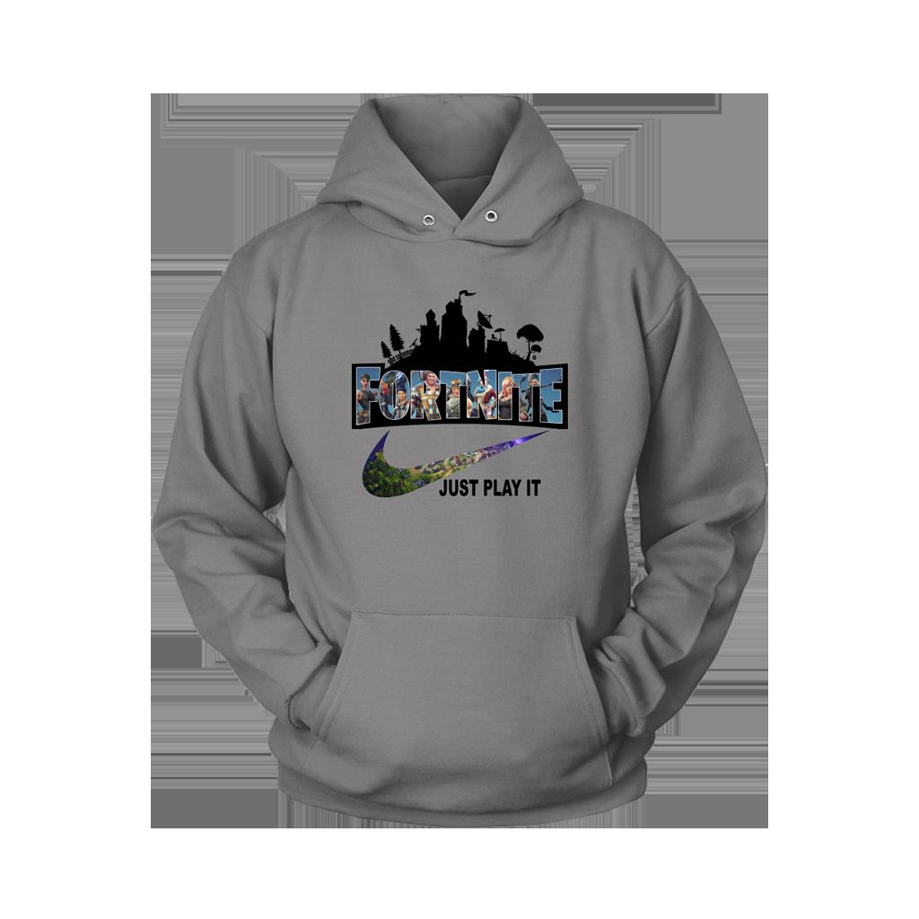 el precio se mantiene estable super barato se compara con venta de liquidación Fortnite Battle Royale x Nike Just Play It Logo Shirts ...