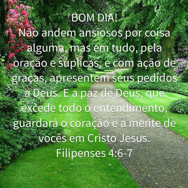 Pin De Edileuza Ramos Em Proverbios Filipenses 4 6 7 Filipenses