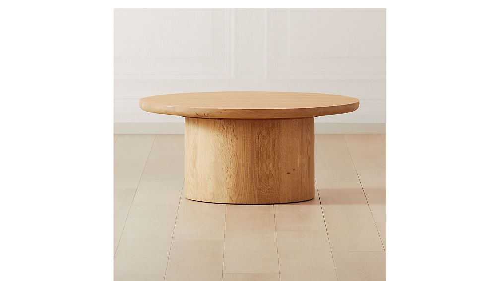 Justice Oak Coffee Table Reviews Cb2 Canada In 2020 Oak