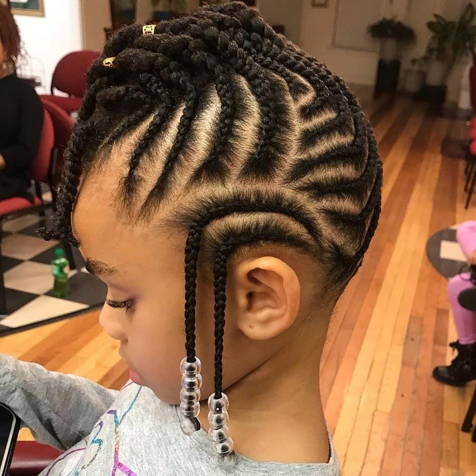 25 Simple And Beautiful Hairstyle Braids For Children Thrivenaija Kids Hairstyles Kids Braided Hairstyles Lil Girl Hairstyles