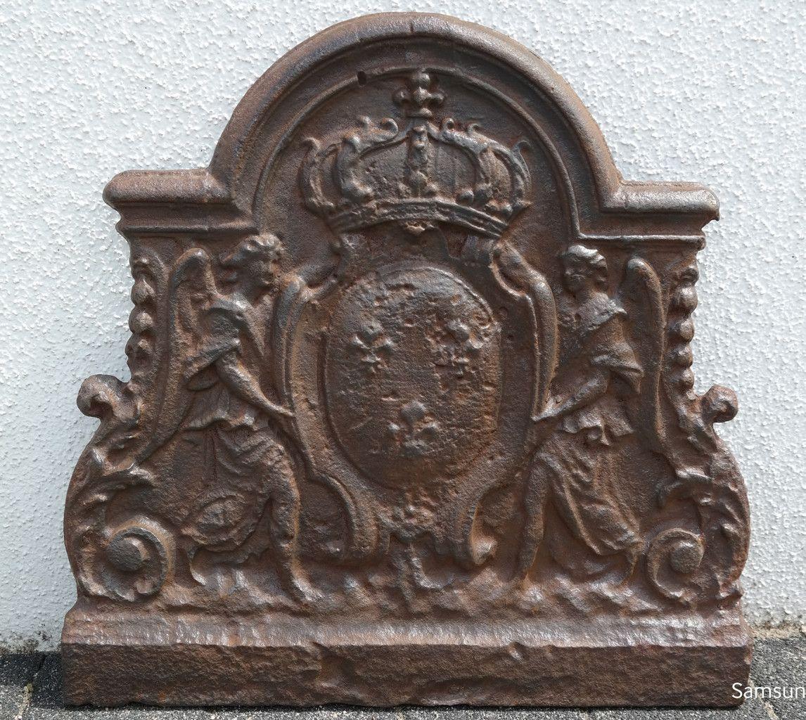 Dr Zenner bourbonenwappen coat of arms of historic firebacks