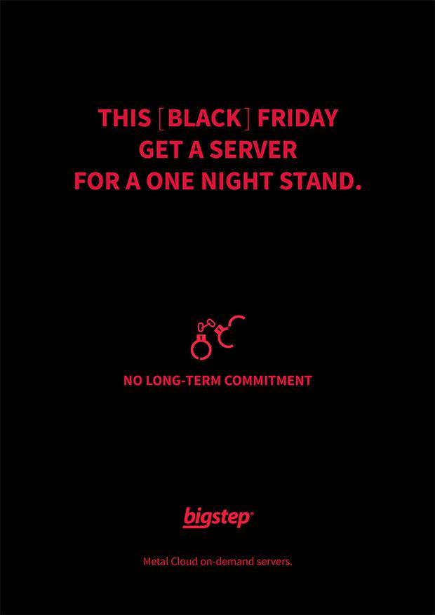 Black friday ad for on-demand cloud hosting servers. https://goo.gl/m4k5s4
