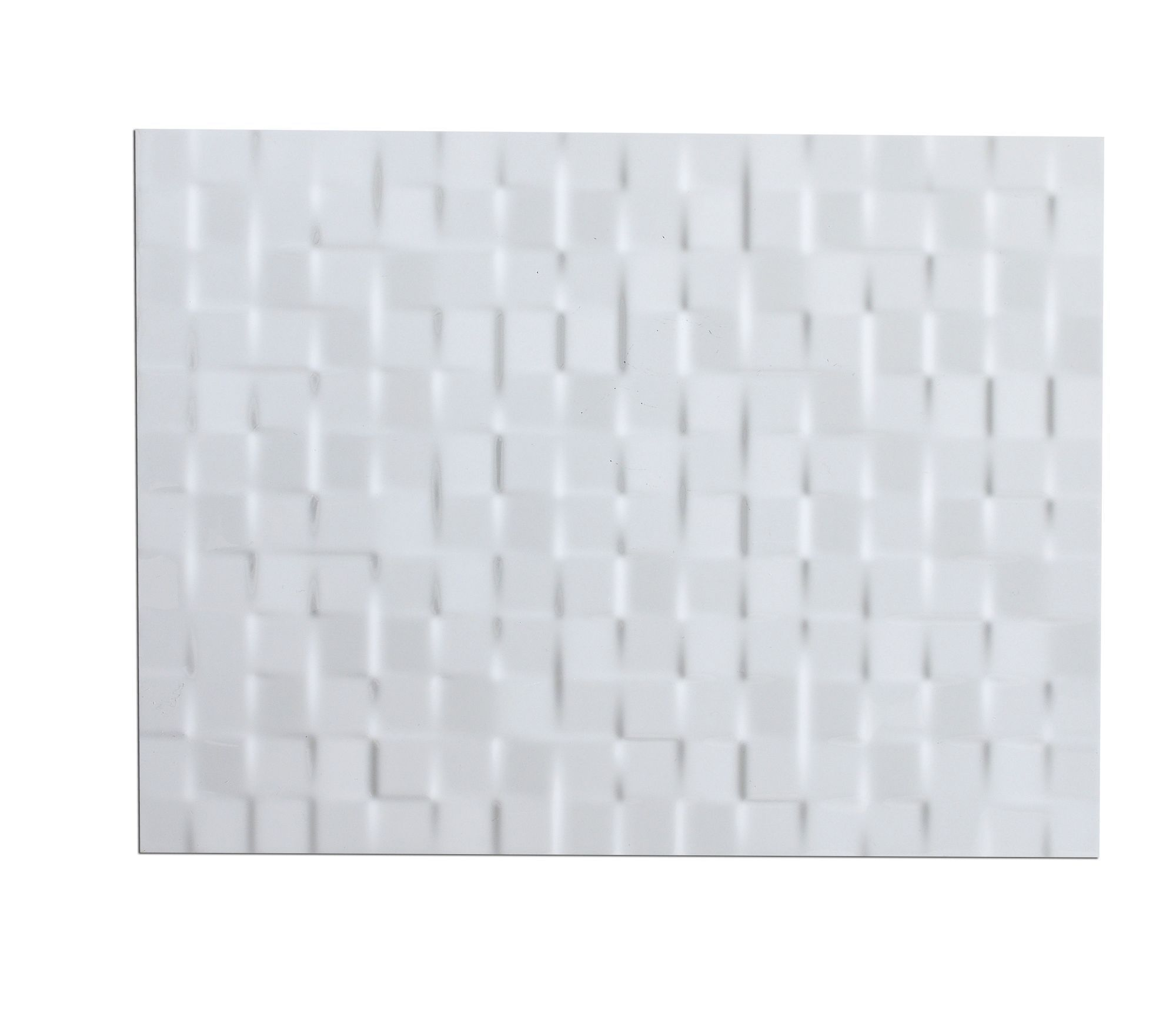 Designer white abstract ceramic wall tile pack of 8 l300mm w designer white abstract ceramic wall tile pack of 8 l300mm dailygadgetfo Choice Image