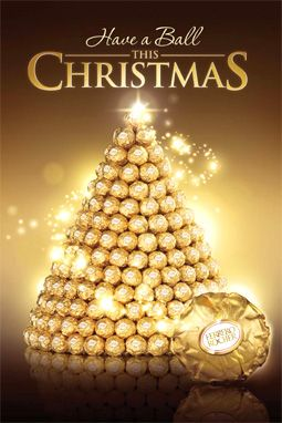 Have A Ferrero Rocher This Christmas Source Ferrero Rocher Christmas Bulbs Christmas Christmas Tree