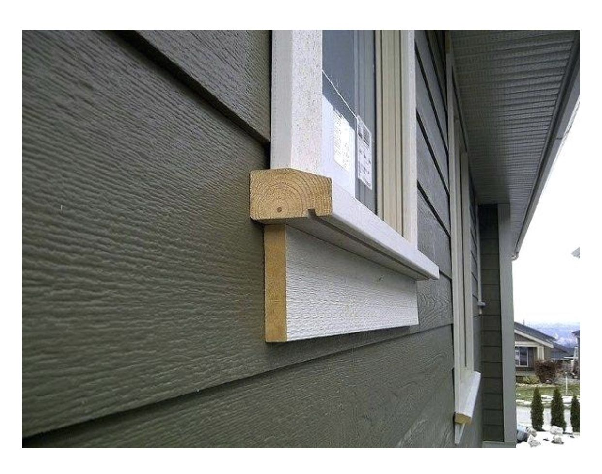 Pin By Angie Atherley Branch On For The Home Window Trim Exterior Exterior Window Sill Wood