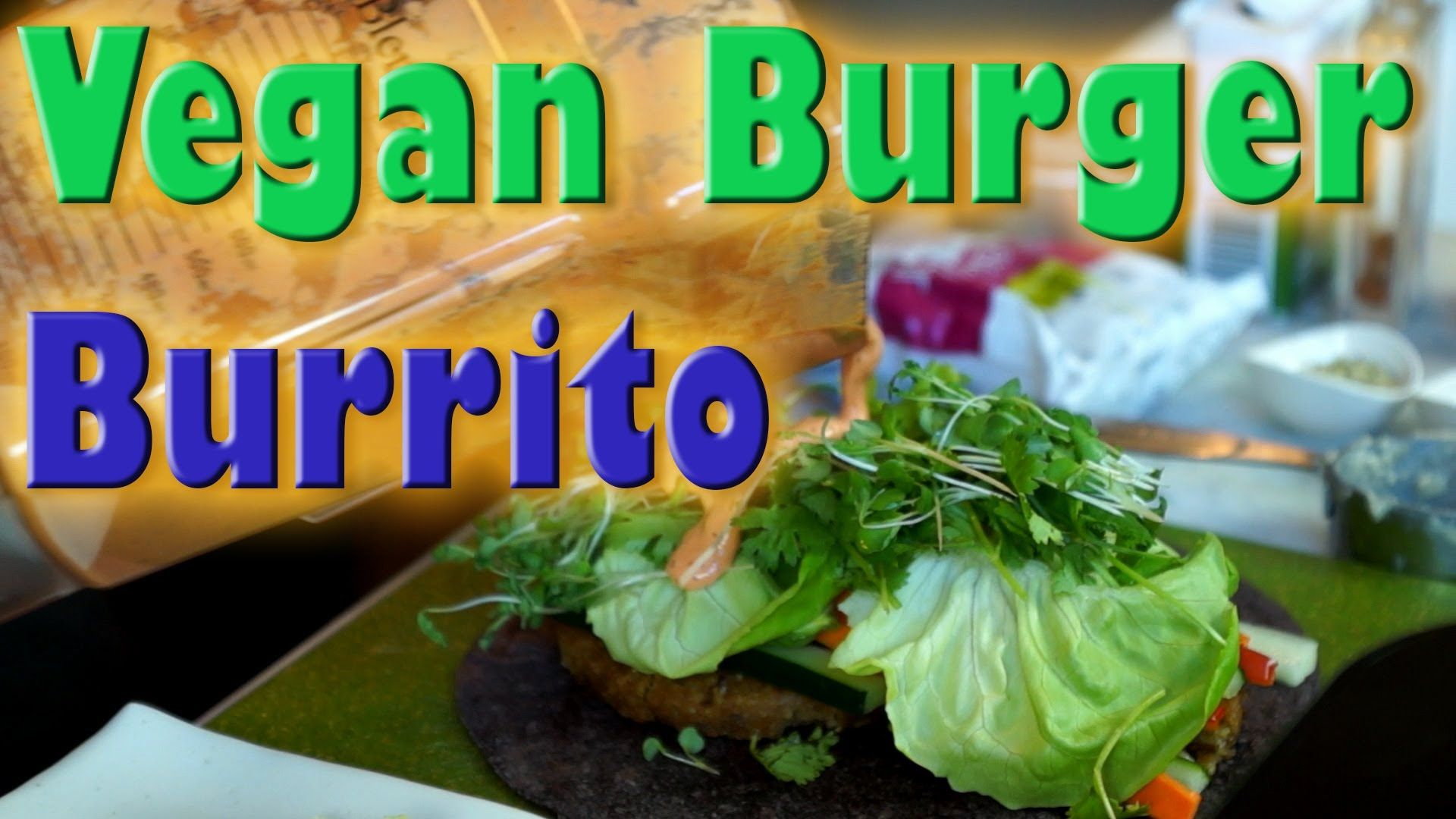 Love this yummy looking burgerrito recipe vegan recipe monster love this yummy looking burgerrito recipe vegan recipe monster burger burrito forumfinder Images
