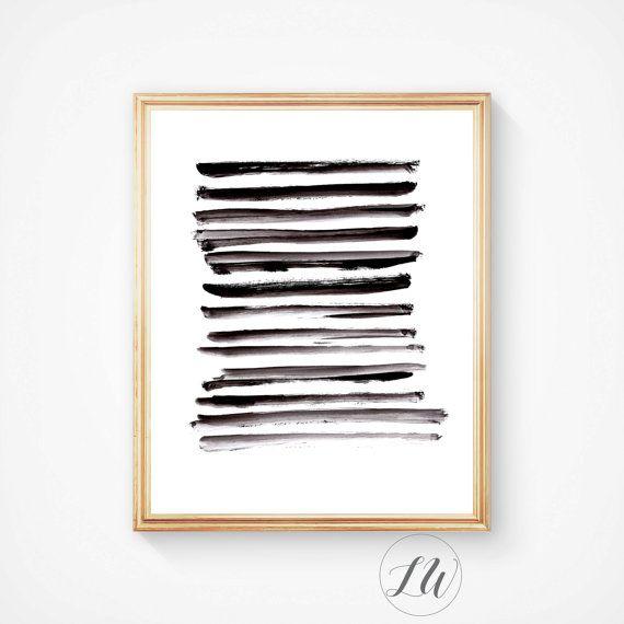 Scandinavian Poster Abstract Printable Art ABSTRACTART007 Modern Wall Decor Acrylic Print Black White Print Minimalist Print