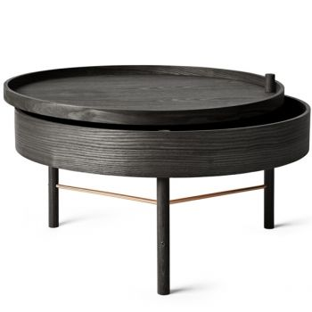 404,95 e Menu Turning Table sohvapöytä, musta saarni   Menu Turning Table   Pöydät   Huonekalut   Finnish Design Shop