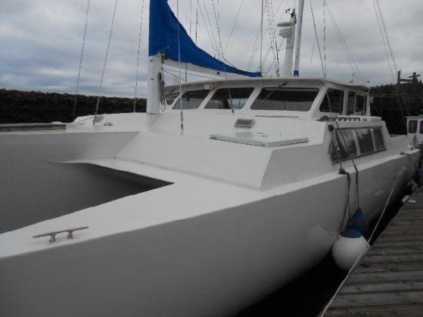 1984 50 Custom Trimaran Ketch Sail Boat For Sale - www