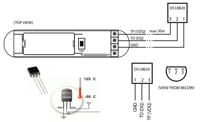 fgk101 ds18b20