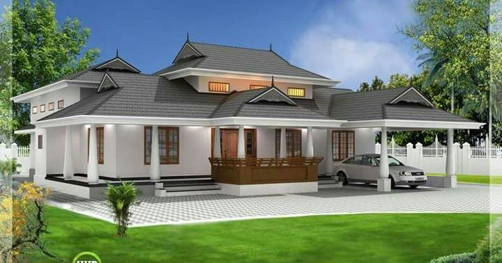 Traditional Low Cost Kerala Home Plans Kerala House Design Photo Gallery 3 Bedroom Kerala Hou Courtyard House Plans Kerala House Design House Design Pictures