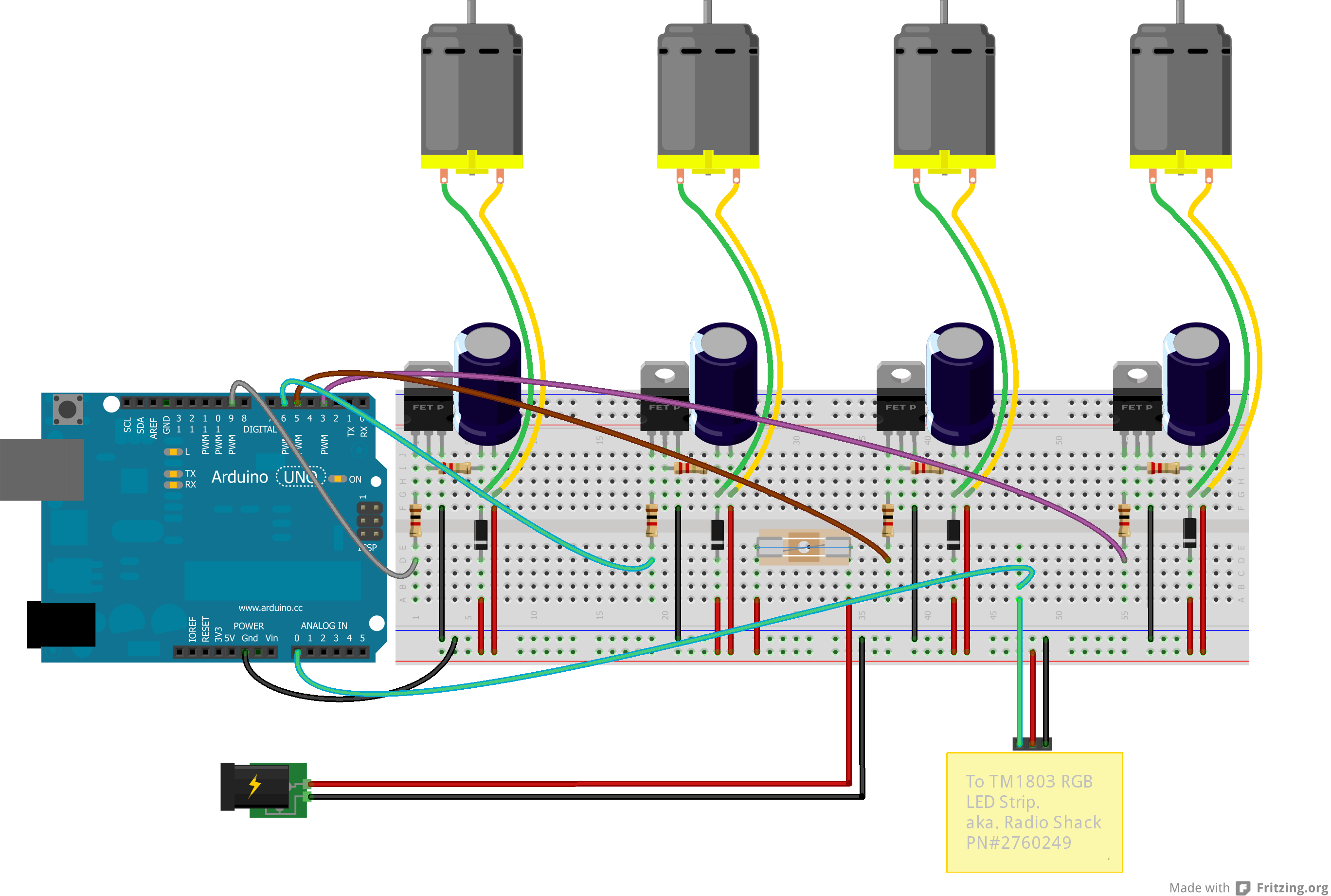 Automatic 4 Channel Pwm Pc Fan Controller Electronics