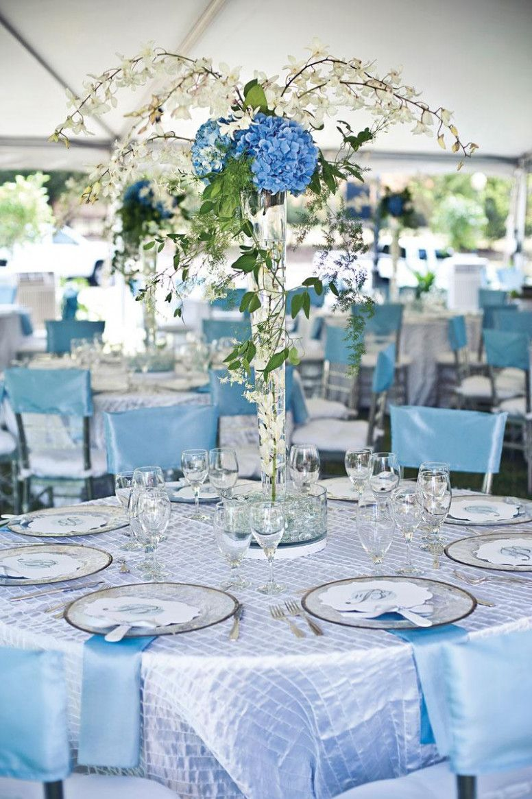 Light Blue Wedding Ideas  wedding deco  Pinterest  Blue wedding