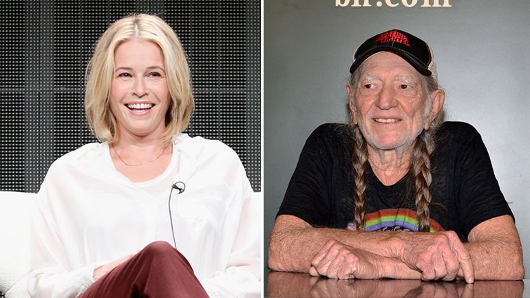 Chelsea Handler Talks About Smoking Pot With Willie Nelson