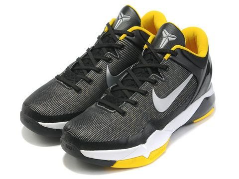 watch 723b5 7dee2 Nike Zoom Kobe 7 Del Sol Black,Style code  488244-001,It features a black  upper with a white swoosh and midsole, while del sol inner lining and  outsole ...