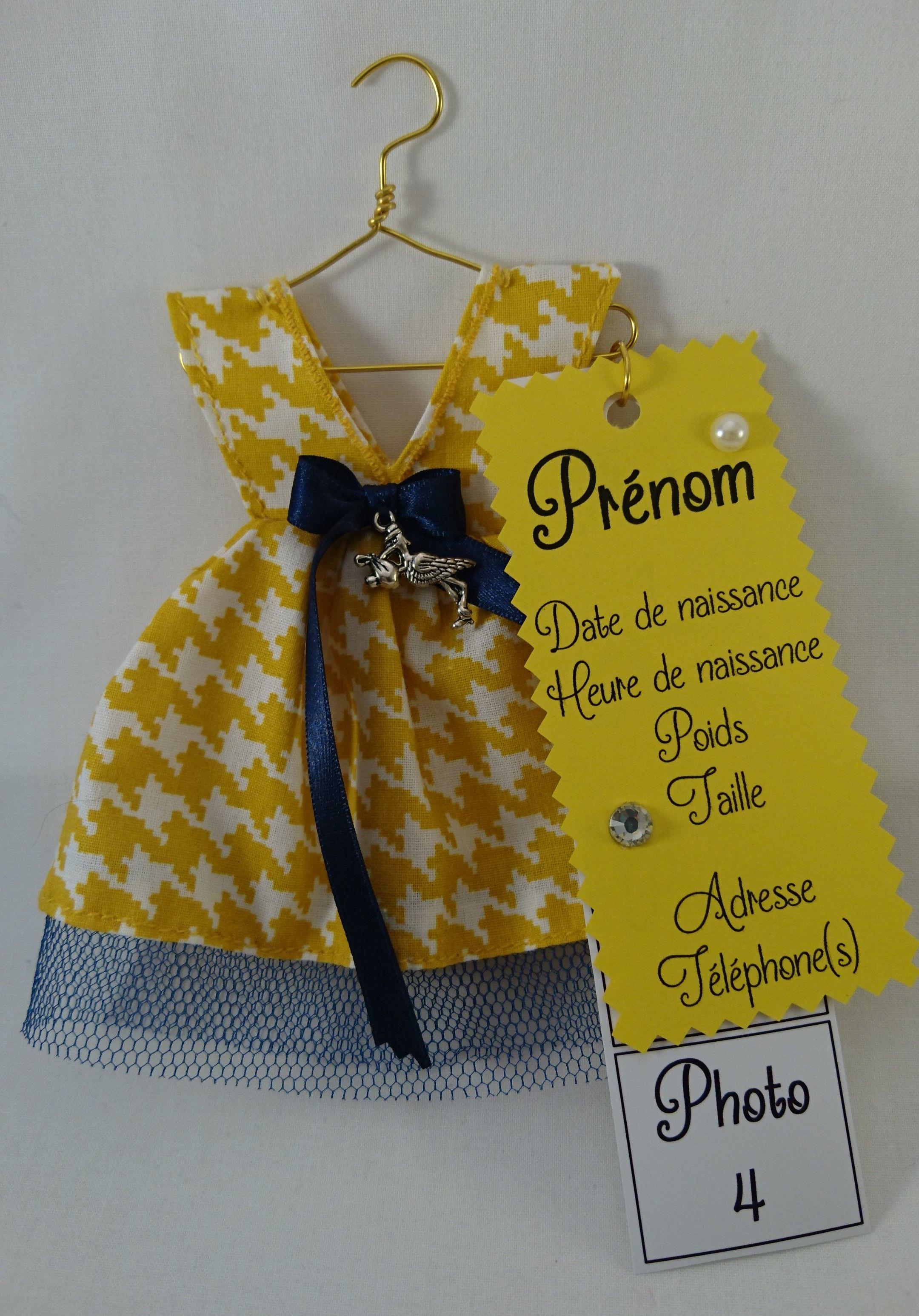 Mon Baptême Jour brodé bébé robe de coton cadeau personnalisé