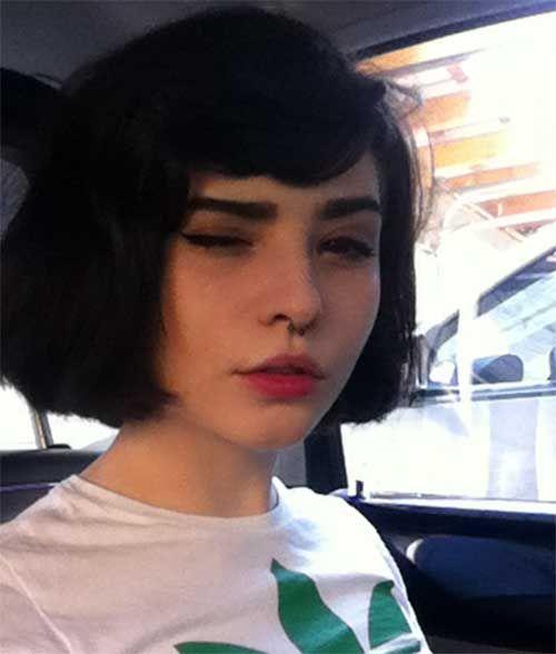 20 Chic Bob Hairstyles With Bangs Pelo Cortes De Cabello Corto