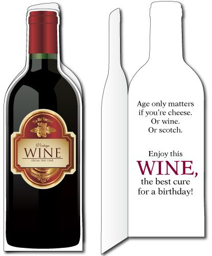 Wine bottle card cards pinterest wine mens birthday cards and discover and share birthday wine quotes explore our collection of motivational and famous quotes by authors you know and love bookmarktalkfo Image collections