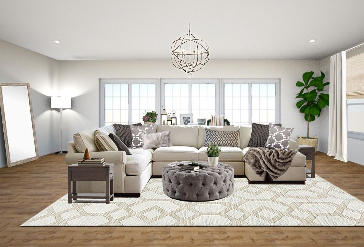 Transitional Living Room Online Interior Design Transitional Living Room Design Paint Colors For Living Room Neutral Living Room #neutral #transitional #living #room