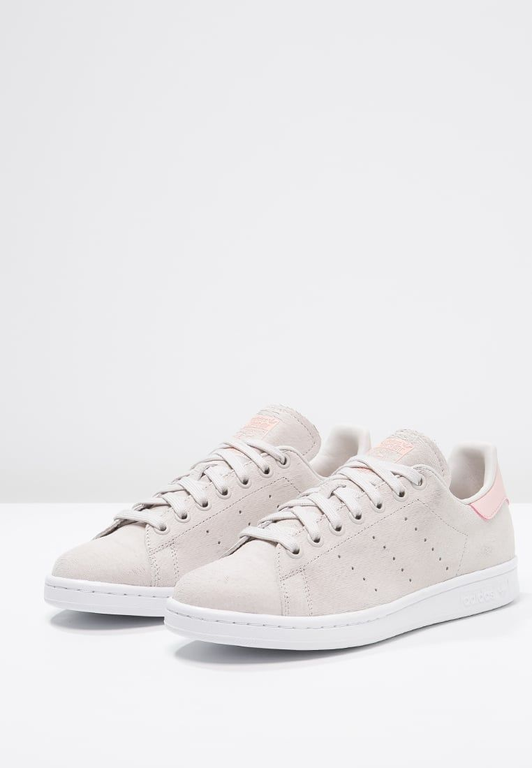 adidas originals stan smith trainers pearl grey white vapour pink for £79.99u2026