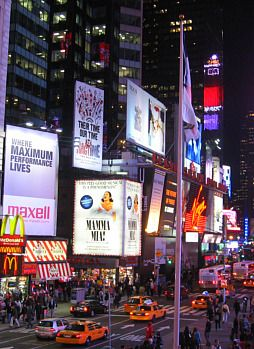 New York City Theatre And Performing Arts Visiting Nyc Nyc Times Square Places In New York