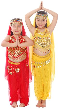 e66b30735 Arabian Princess Girls Belly Dancer / Bollywood Costume - RED http://www.