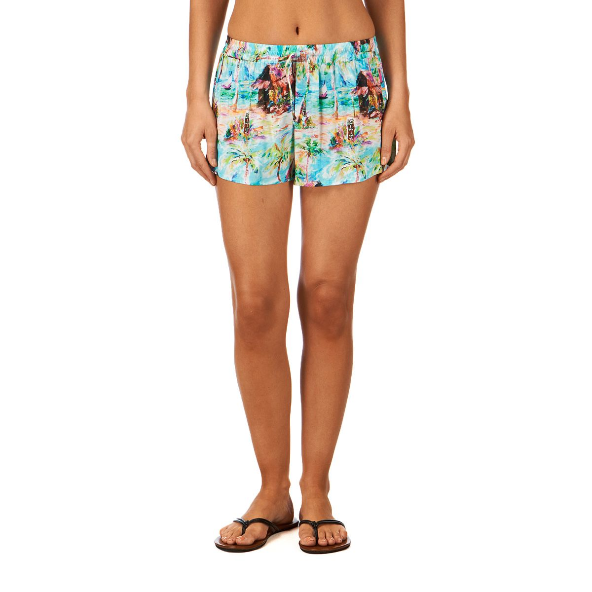 Seafolly Blue Lagoon Shorts - Ice | Free UK Delivery on All Orders