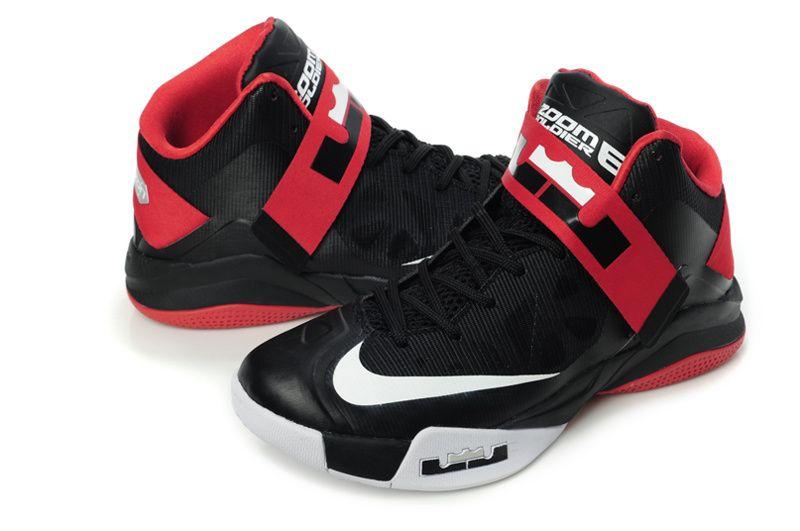 957cb79b1320 Nike Zoom Soldier 6 VI Black Red White