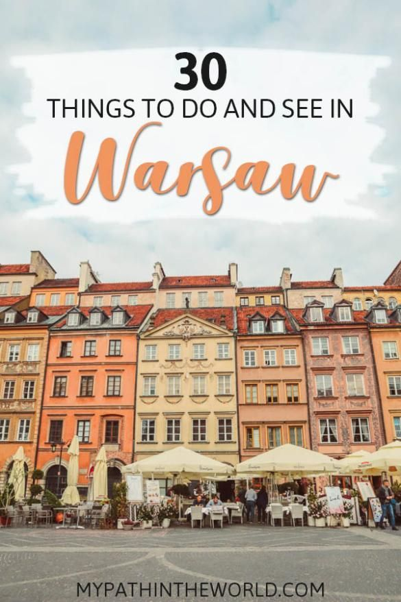Wandering what to do in Warsaw Poland? Here are the best things to do in Warsaw including must see places, what to eat and other travel tips.