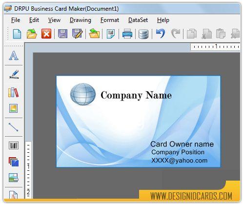 Free Business Card Design Software Http Www Lonewolf Software