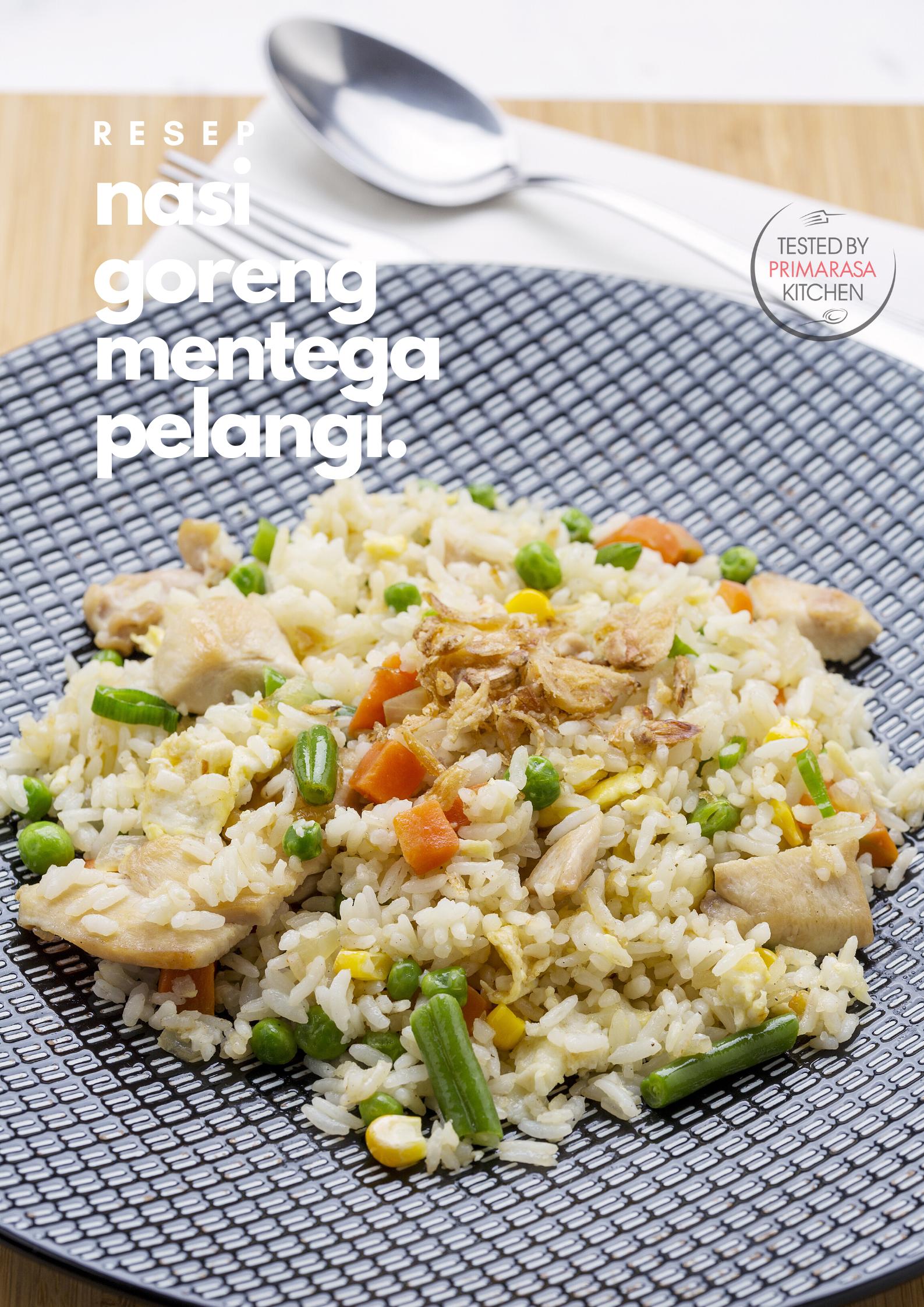 Nasi Goreng Mentega Pelangi Resep Masakan Masakan Nasi Goreng
