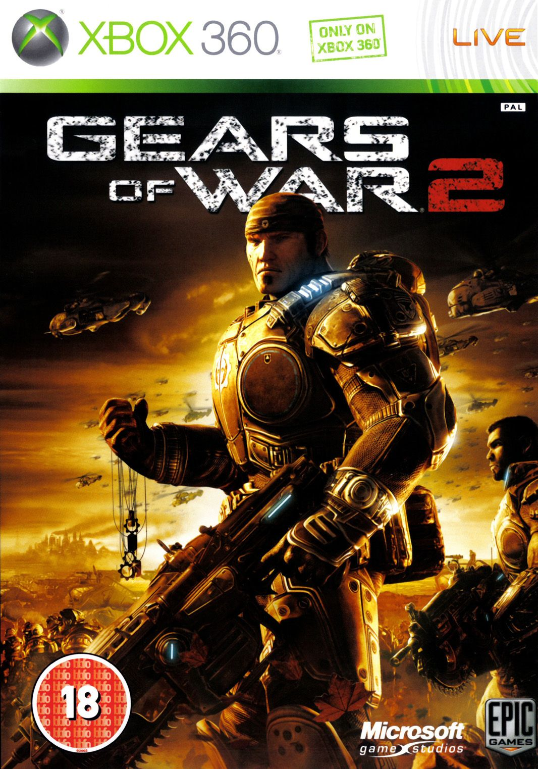 Pin By L Side Of Gaming On Game Covers Gears Of War Gears Of