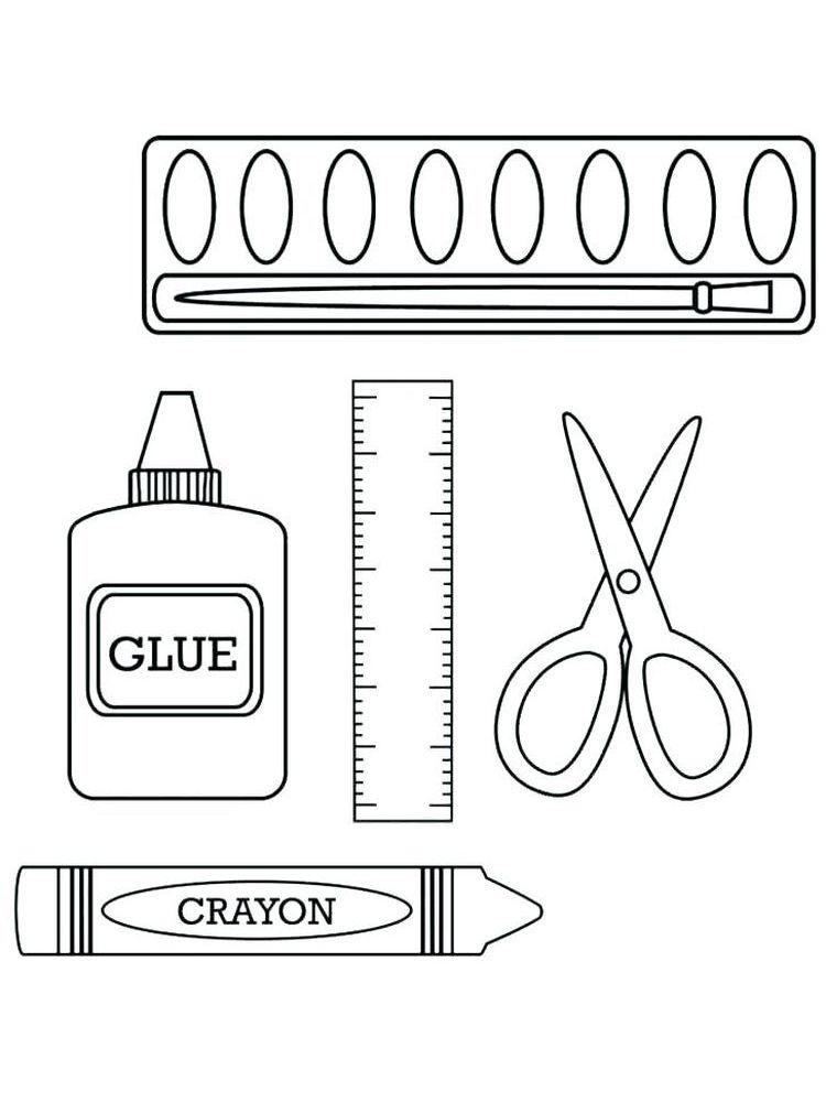Crayons Coloring Book Pages Everyone Knows Crayons We Often Use Crayons For Coloring Besides Color Pencils And Marke Kegiatan Sekolah Buku Gambar Pendidikan