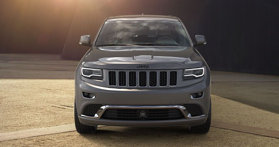 2016 Jeep Grand Cherokee High Altitude Front View Jeep