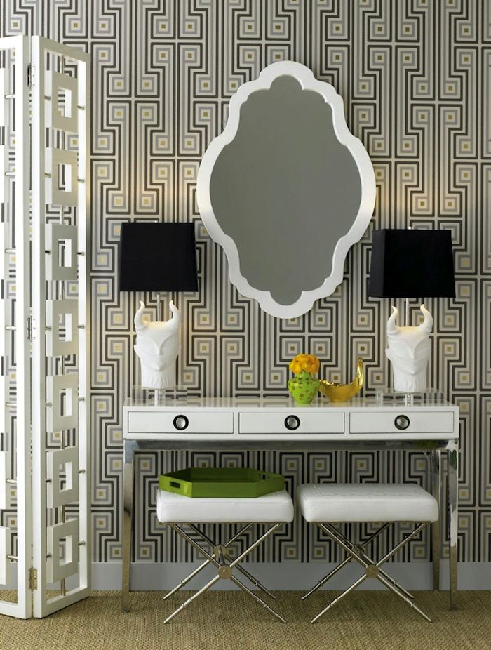 jonathan adler - this mirror would be fab over a bathroom vanity