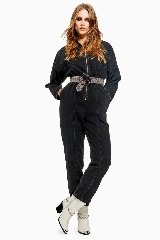 c1bae481a12 Zip Up Boilersuit - Denim - Clothing