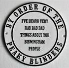 THIS PLACE IS UNDER NEW MANAGEMENT Cast Iron Sign PEAKY BLINDERS