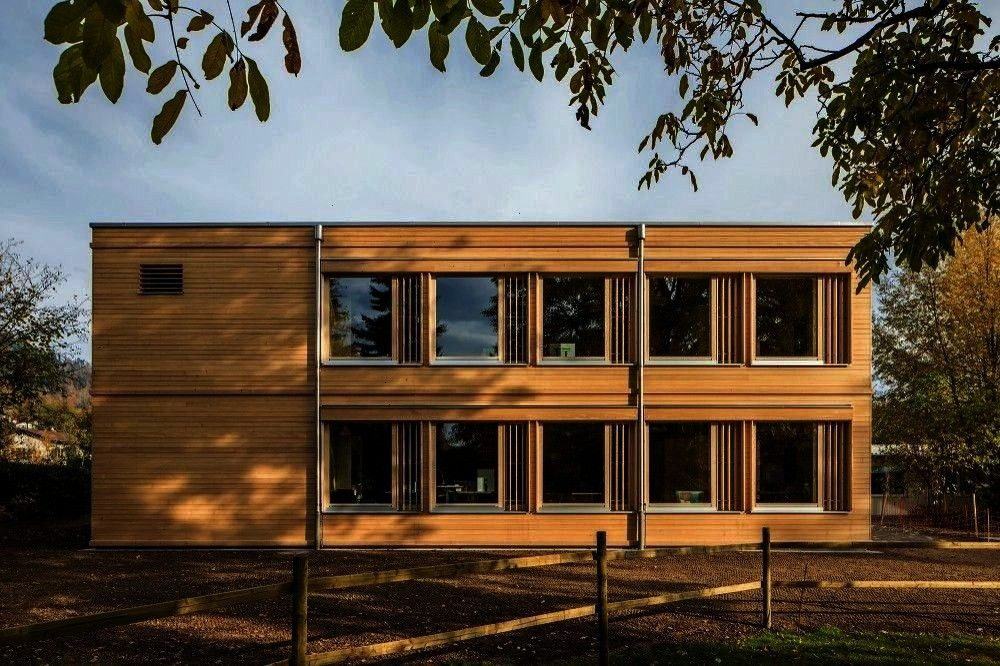 Primary School in Thun by LanzreinPartner  DETAIL  Lessons in industrial charm Primary School in Thun by LanzreinPartner  DETAIL Lessons in industrial charm Primary Schoo...