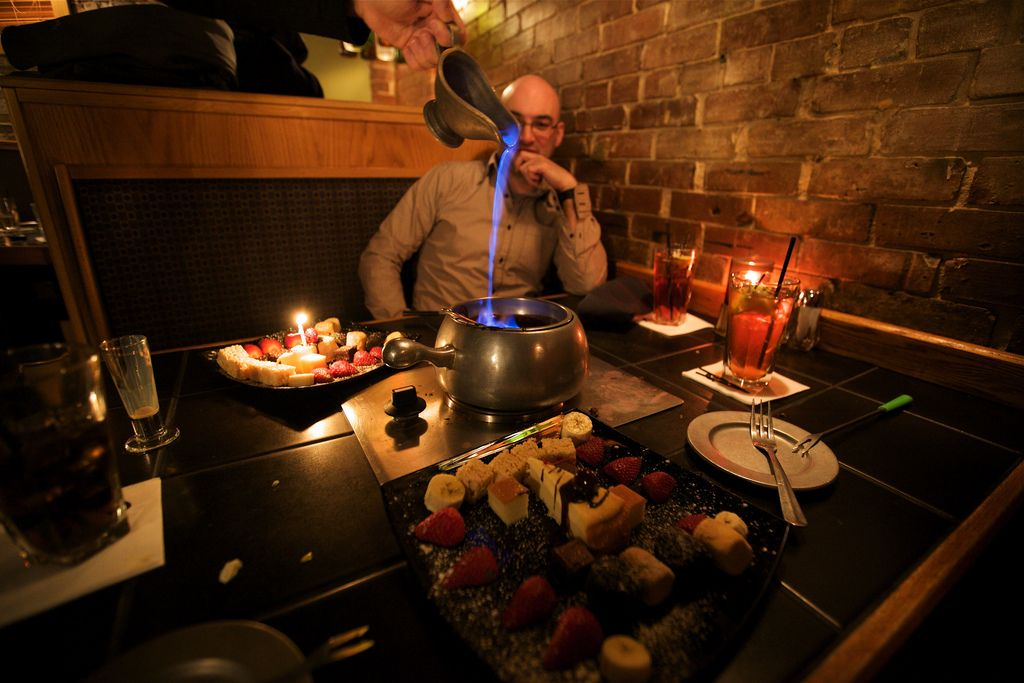 Date night in nashville a review of the melting pot
