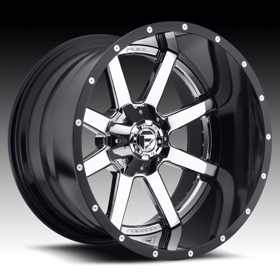 22x14 Fuel Maverick Rims Fuel Wheels Wheel Rims Chrome Wheels