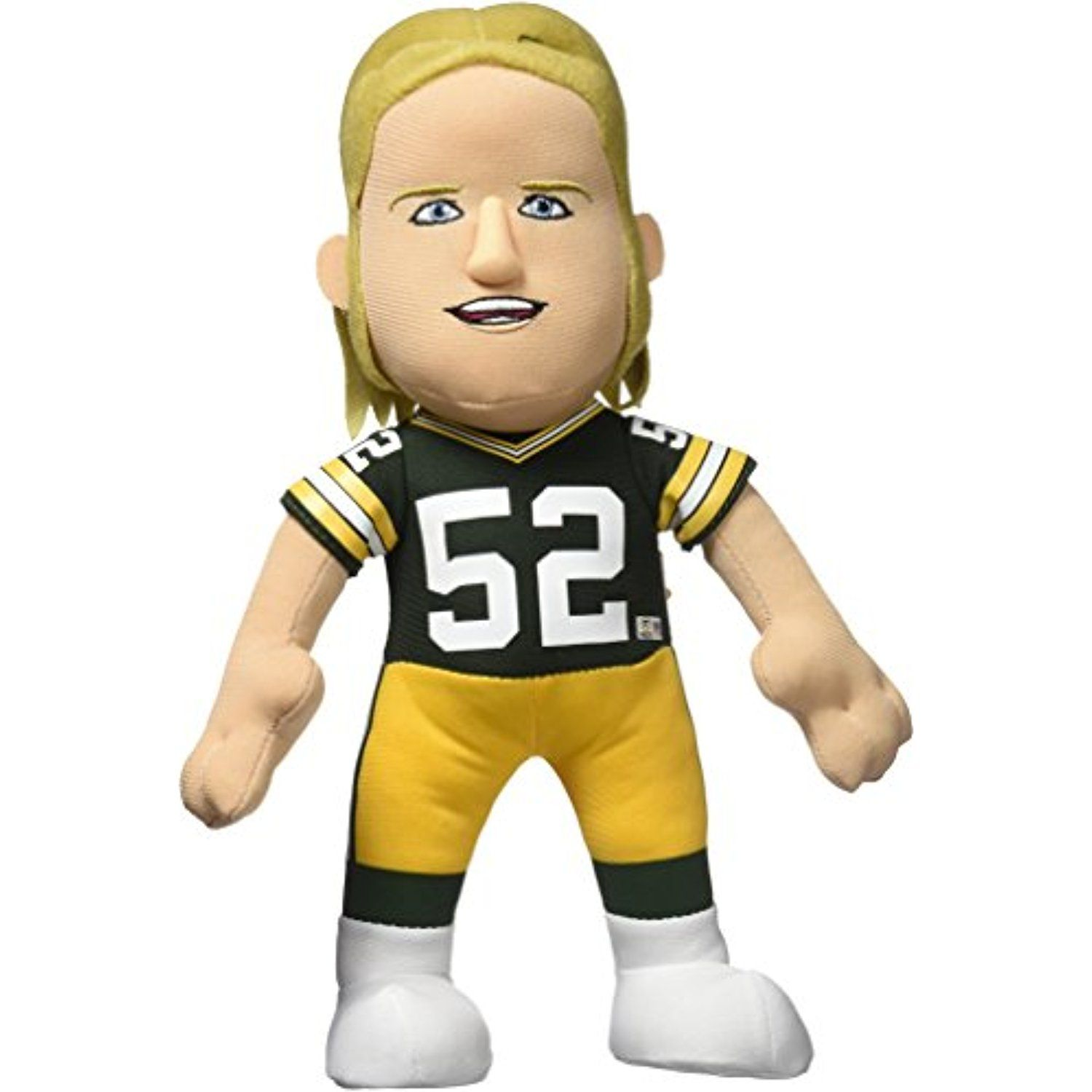 Nfl Green Bay Packers Clay Matthews Player Plush Doll 6 5 Inch X 3 5 Inch X 10 Inch Green Details Can Be Found By C Clay Matthews Plush Dolls Nfl Packers