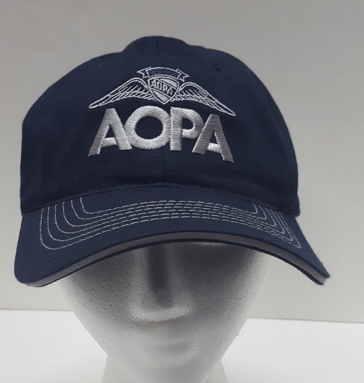 ff19bac0c8f6a1 Aircraft Owners Pilots Association AOPA Green Cotton Baseball Cap Hat Strap  Back | Clothing, Shoes & Accessories, Men's Accessories, Hats | eBay!