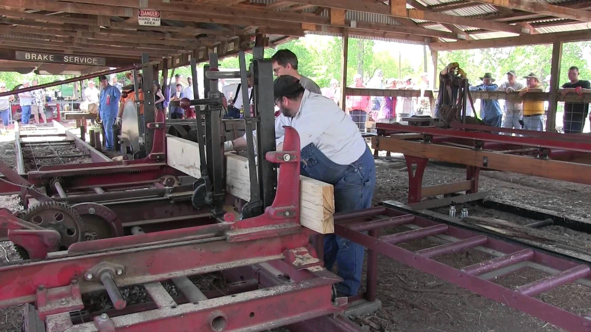 Pawnee OK Sawmill 2015 Sawmill, Antique tractors, Pawnee