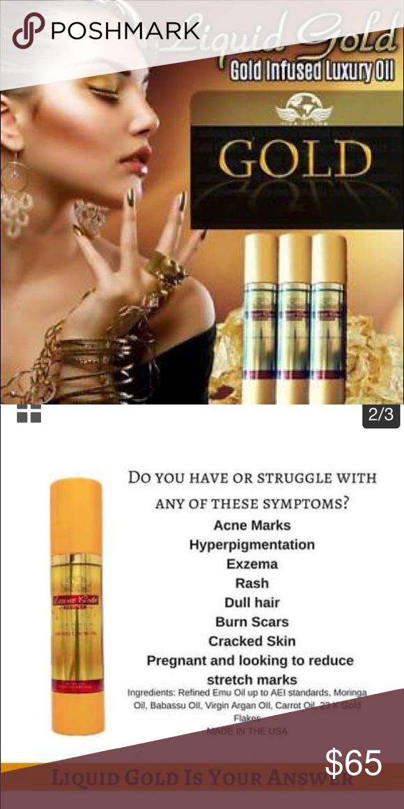 Emu Oil Skink care 23k liquid gold added, carrot Oil, Emi